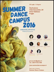 Summer Dance Campus 2016